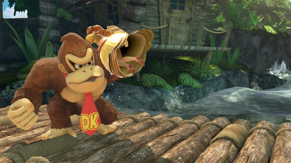 coup spécial de Donkey Kong