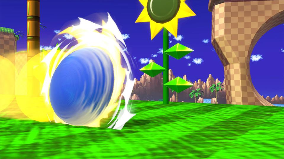 coup spécial de Sonic
