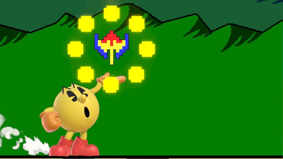 coup spécial de Pac-Man
