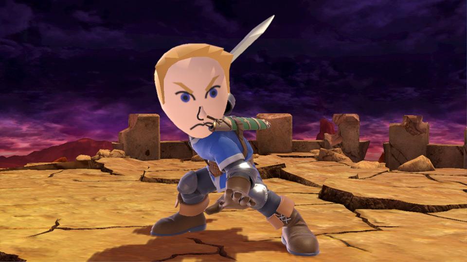 coup spécial de Mii Swordfighter